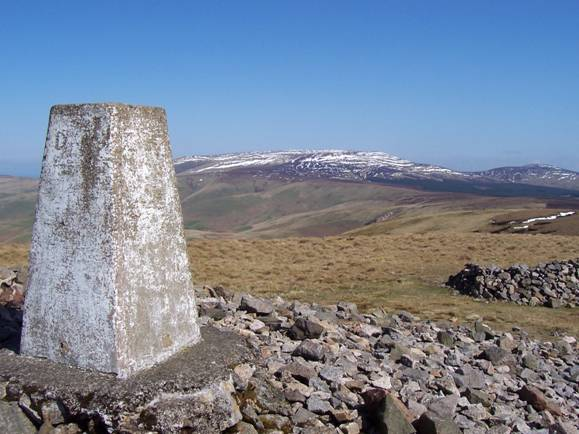 The Cheviot from Windy Gyle etc.JPG