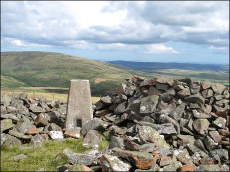 Shill Moor summit