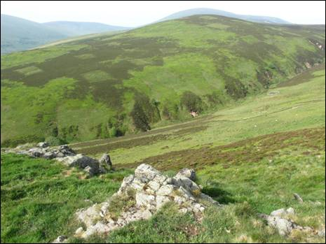 The view from Langlee Crags